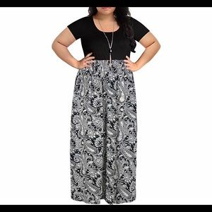 8fd28d85272 Dresses   Skirts - 🆕 Short Sleeve Plus Size Casual Maxi Dress